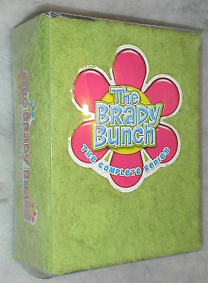 The Brady Bunch Complete Series + Shag Carpet Cover DVD Box Set NEW SEALED