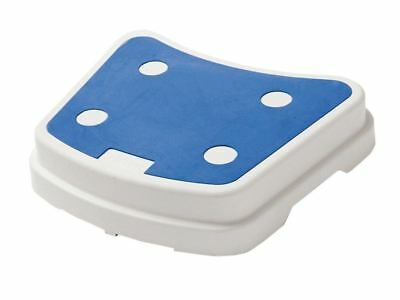 Lightweight Plastic Non Slip Portable Stackable Padded Bath Aid Mobility