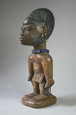 Excellent Rare Antique Yoruba Ibeji From Abeokuta In Nigeria