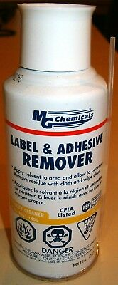 5 oz. Spray Can LABEL & ADHESIVE REMOVER (MG Chemicals 8361-140G)