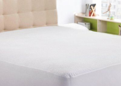 Mattress Protector King Size Waterproof Bed Cover Ultra Soft Fabric Sleep Safe