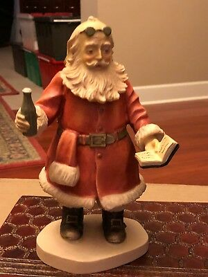 """Duncan Royale,""""SODA POP SANTA"""", Hand Carved & Painted in Italy by Dolphi."""