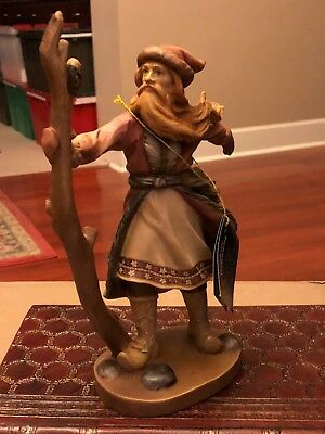"""Duncan Royale,""""DEDT MOROZ SANTA"""", Hand Carved & Painted in Italy by Dolphi"""
