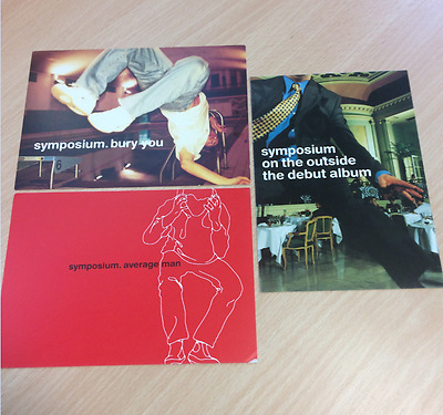 Symposium - Bury You / Average Man / On The Outside - Promo Postcards Free P+P