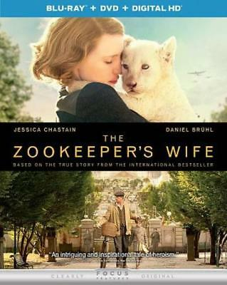 The Zookeeper's Wife New Blu-Ray/Dvd