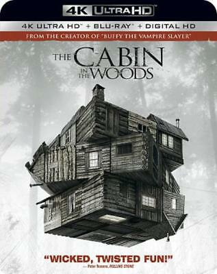 Cabin In The Woods New 4K Ultra Hd Blu-Ray