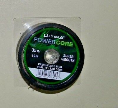 Ultima Powercore Camouflage High Quality Lead Core 35 Lb /10 M
