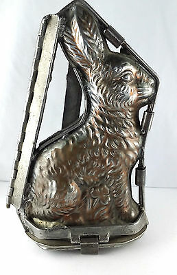 antike alte Schokoladenform Osterhase TC Weygandt New York chocolate mold 25 cm