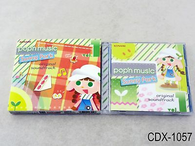 Pop'n Music Sunny Park 20 vol 1 Original Soundtrack Bemani OST Import US Seller