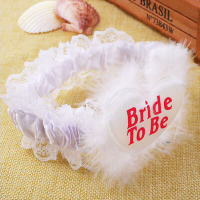 New Night Bachelorette Bridal Party Fashion Garter Badge Lace Bride To Be
