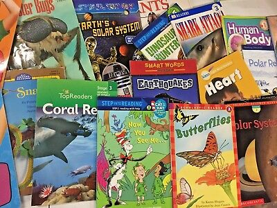 MIXED LOT 30 Kids elementary science STEM nonfiction books unsorted SHIPS FREE