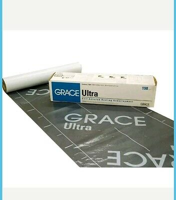 """GRACE Ultra Roof Underlayment 34"""" x 70' Roll - 198 Sq. Ft."""