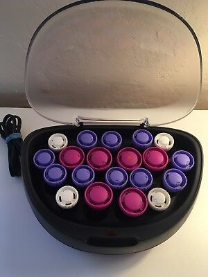 Remington 20 Rollers Set Ionic Curling Hair Curls Hairstyles Curlers Hot Salon