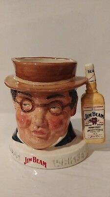 """ Royal Doulton Character Jug: Mr. Pickwick 1982 Promotional Jim Beam 4""  2,000"