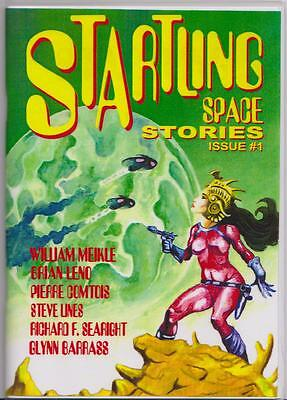 051 STARTLING SPACE STORIES Rainfall chapbook. Science Fiction adventure tales