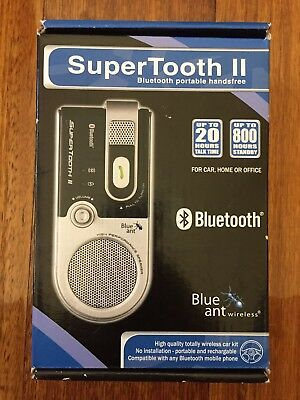BlueAnt Supertooth 2 Bluetooth Hands free Car Unit New Never Used Unopened