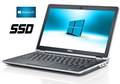 BUSINESS DELL NOTEBOOK LAPTOP  E6320 Core i5  2,50 Ghz DVD-RW 4GB SSD  Win10 Pro