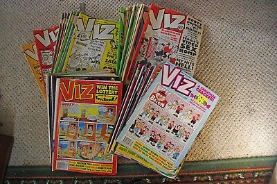 Viz comics, 9 issues 45 to 54 (not 52), 1990-1992, Roger Mellie, Sid the Sexist,