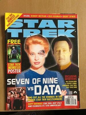 The Official Monthly Magazine Star Trek No 101