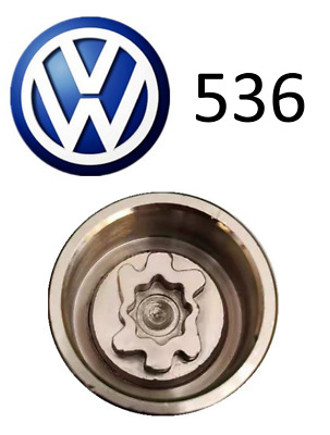 VW New Locking Wheel Nut Key With Letter S536