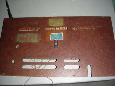 PHILCO 40-150 RADIO Back Cover With Antenna