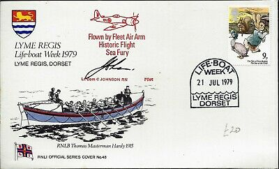 RNLI GB FDC COMMEMORATIVE SERIES 1 to 50 PLAIN CARRIED SIGNED SPECIAL EDITIONS