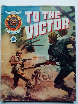 lion picture library, war comic