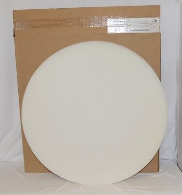 Tri Lateral Sales 403556 White Impress Burnishing Pad 27 Inch 5 Pack