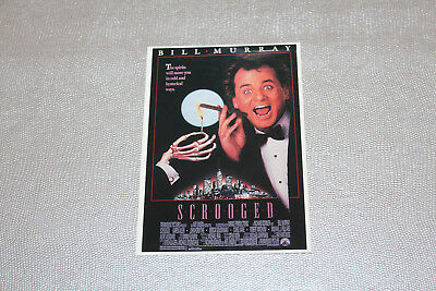 Carte Postale - Scrooged Picture Postcard Movie