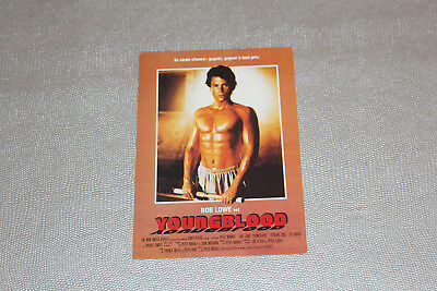 Carte Postale - Youngblood Picture Postcard Movie