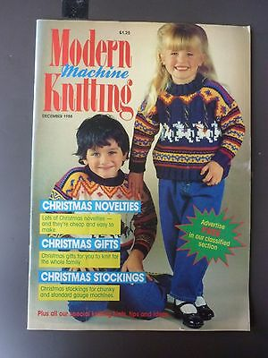 Modern Machine Knitting - December 1988