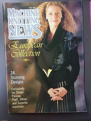 Machine Knitting News - European Collection 1987