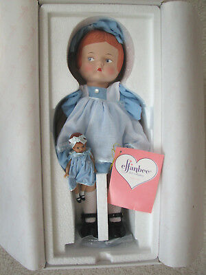 """NEW - Effanbee 14"""" Porcelain Patsy Doll with Vinyl Wee Patsy  P226 - Mint in Box"""