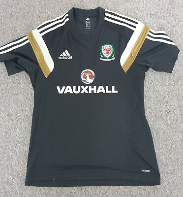 Wales Official football adidas Training Top Grey M