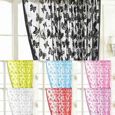 Curtain Balcony Supplies Butterfly Curtain Curtain Lace Curtain Lace Fabric