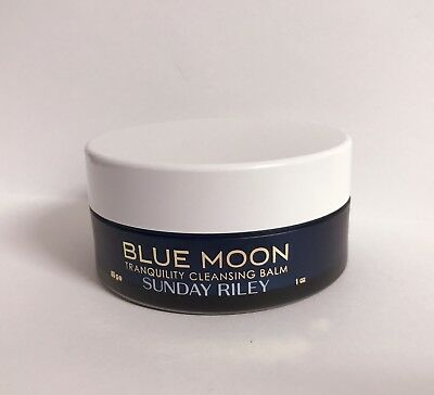 SUNDAY RILEY Blue Moon Tranquility Cleansing Balm 30g Travel Size