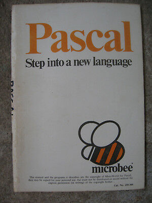 Pascal language manual for Microbee ROM computer