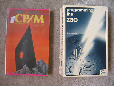 Mastering CP/M, Programming the Z80 - two 1980s low-level programming texts