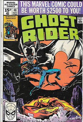 Ghost Rider (Vol.1) #48 Bronze Age Marvel Comics VG