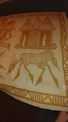 hand made African tapestry