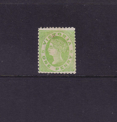 Victoria 1861; 1d Netted Corners Superb Mint.ASC 25, Sg 104b