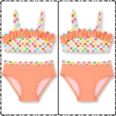 NWT Size 3-6 months lot of two swimsuits beach water pool swimming twin girls