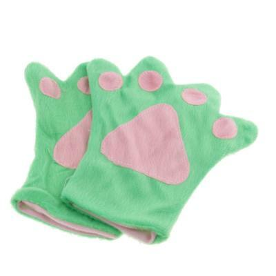 Set of 4pcs Frog Crown Headband Bow Tie Gloves Kids Party Cosplay Costume