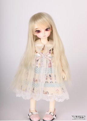 bjd LUTS CDW-78 doll wig (natural blond / blonde)