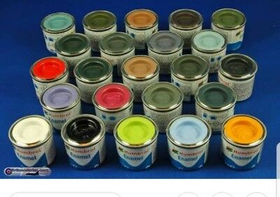 4x Humbrol Enamel Paint 14ml