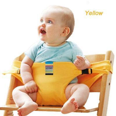 Portable High Chair Travel Feeding Baby Baby Dining Seat Harness Safety Belt