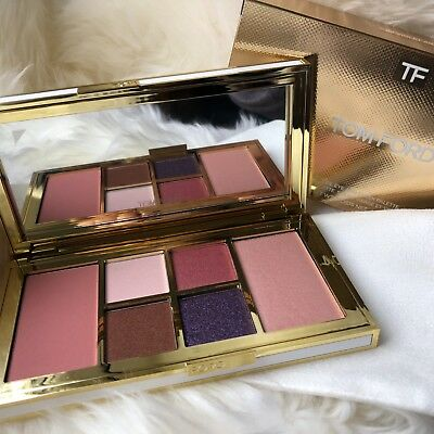 BNIB NEW Tom Ford Soleil Eye & Cheek Palette - 04 VIOLET ARGENTE