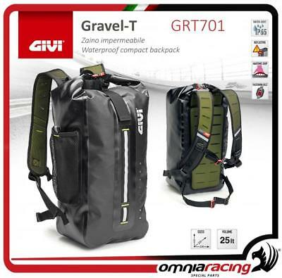 GIVI Gravel-T Range 25 lt imperméable compact backpack/Universal