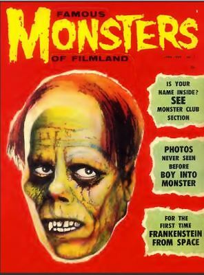 Famous Monsters Of Filmland 179 Issue Collection  On DVD Free Shipping
