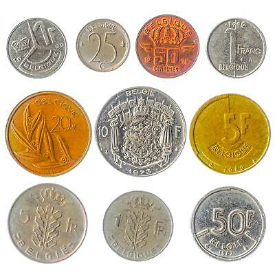 25 One Franc Coins Free Shipping!!!! PURE NICKEL! France Coin Lot